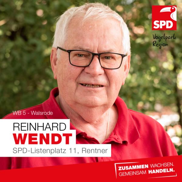 Reinhard Wendt